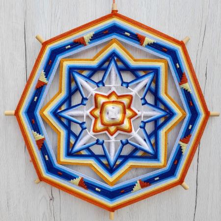 Decoratiune Azteca Yagul Mandala [0]