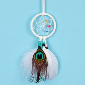 Dreamcatcher White Peacock0