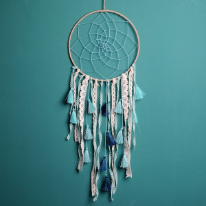 Dreamcatcher Baby Blue Tassel0