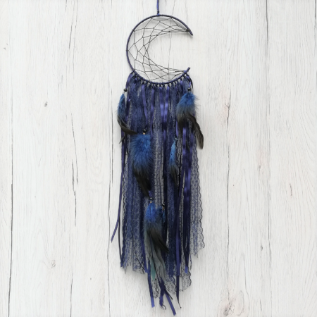 Dreamcatcher Semiluna Lace, Indigo [2]