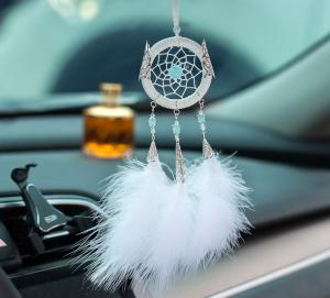 Dreamcatcher Silver Wings, pentru masina0