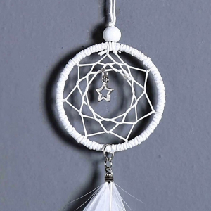 Dreamcatcher White Little Star, pentru masina