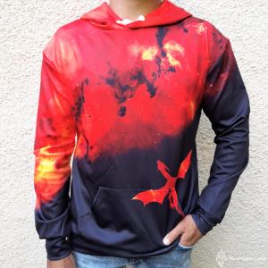 Hanorac 3D Scarlet Dragon0