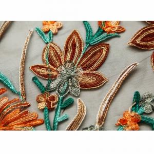 Kimono cu Franjuri Brodat