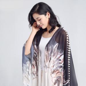 Kimono Elegant Feather0