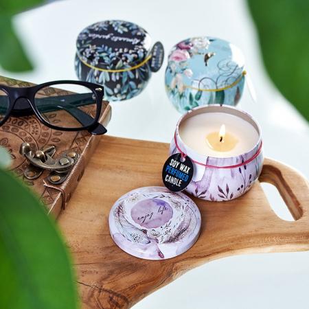 Lumanare Parfumata Purple Rose Garden3