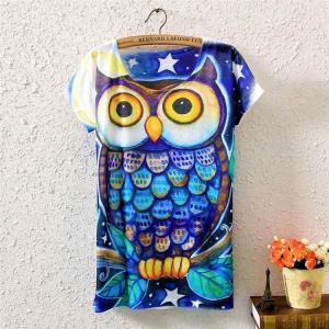 Tricou Blue Owl0