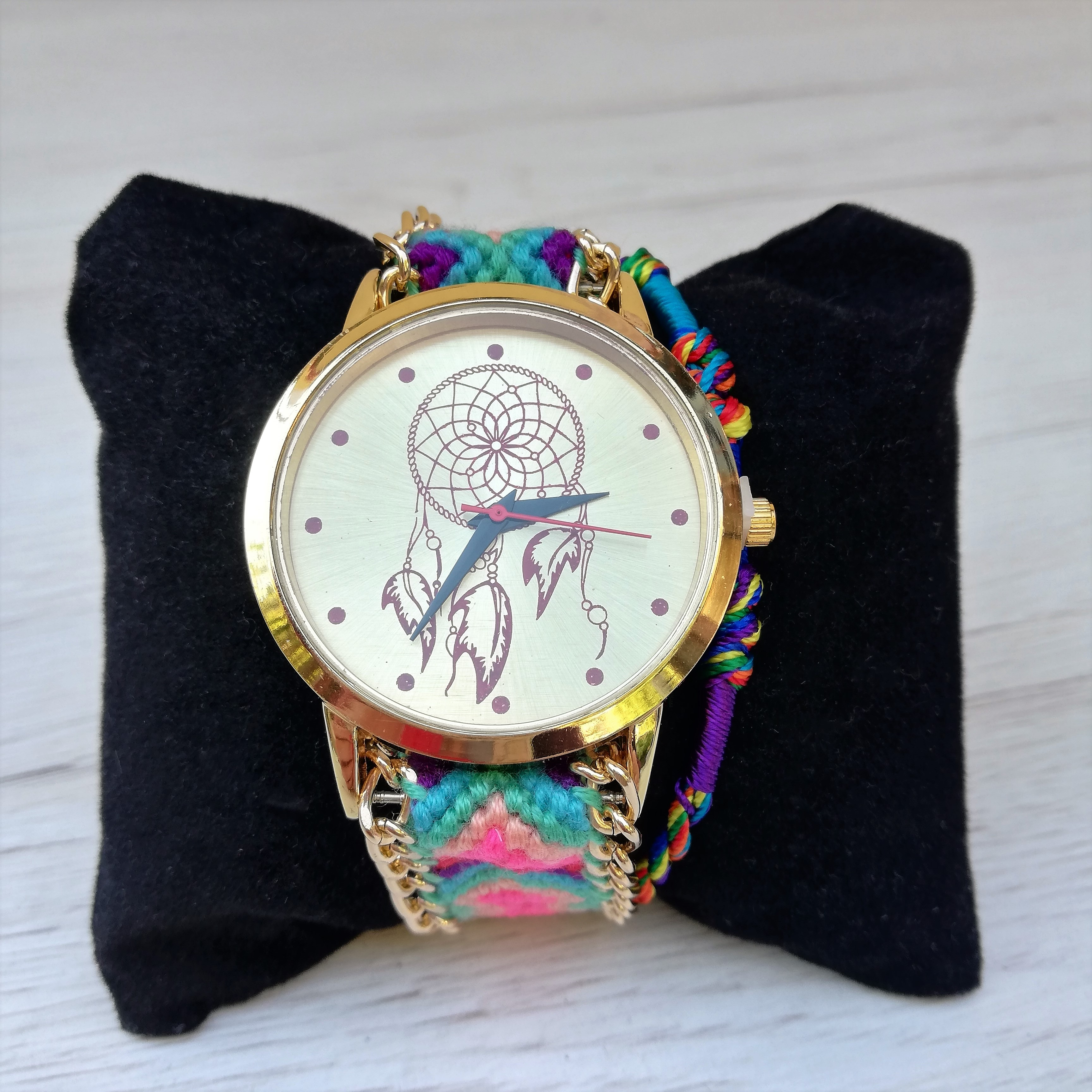 Ceas Dreamcatcher Rainbow1