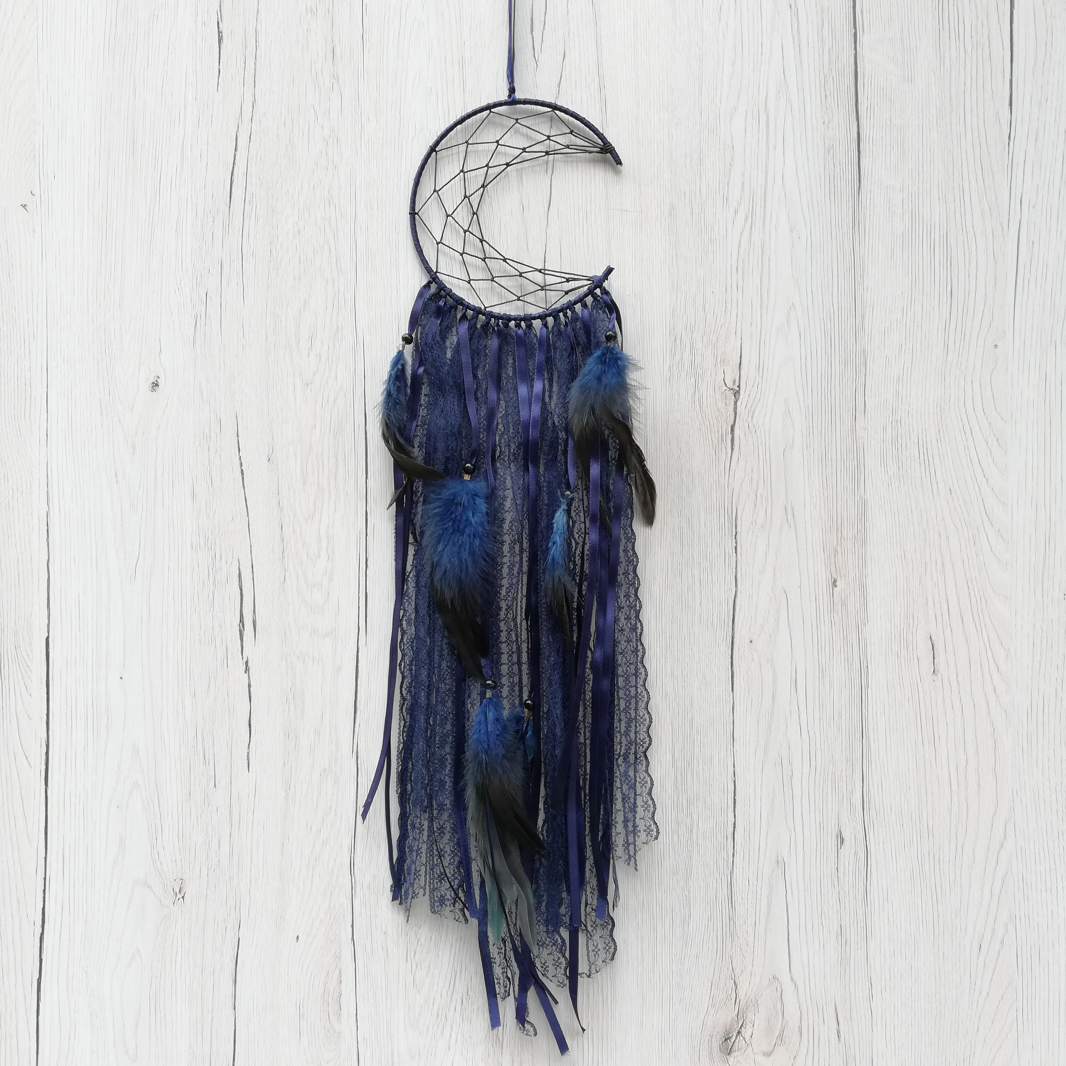 Dreamcatcher Semiluna Lace, Indigo 2