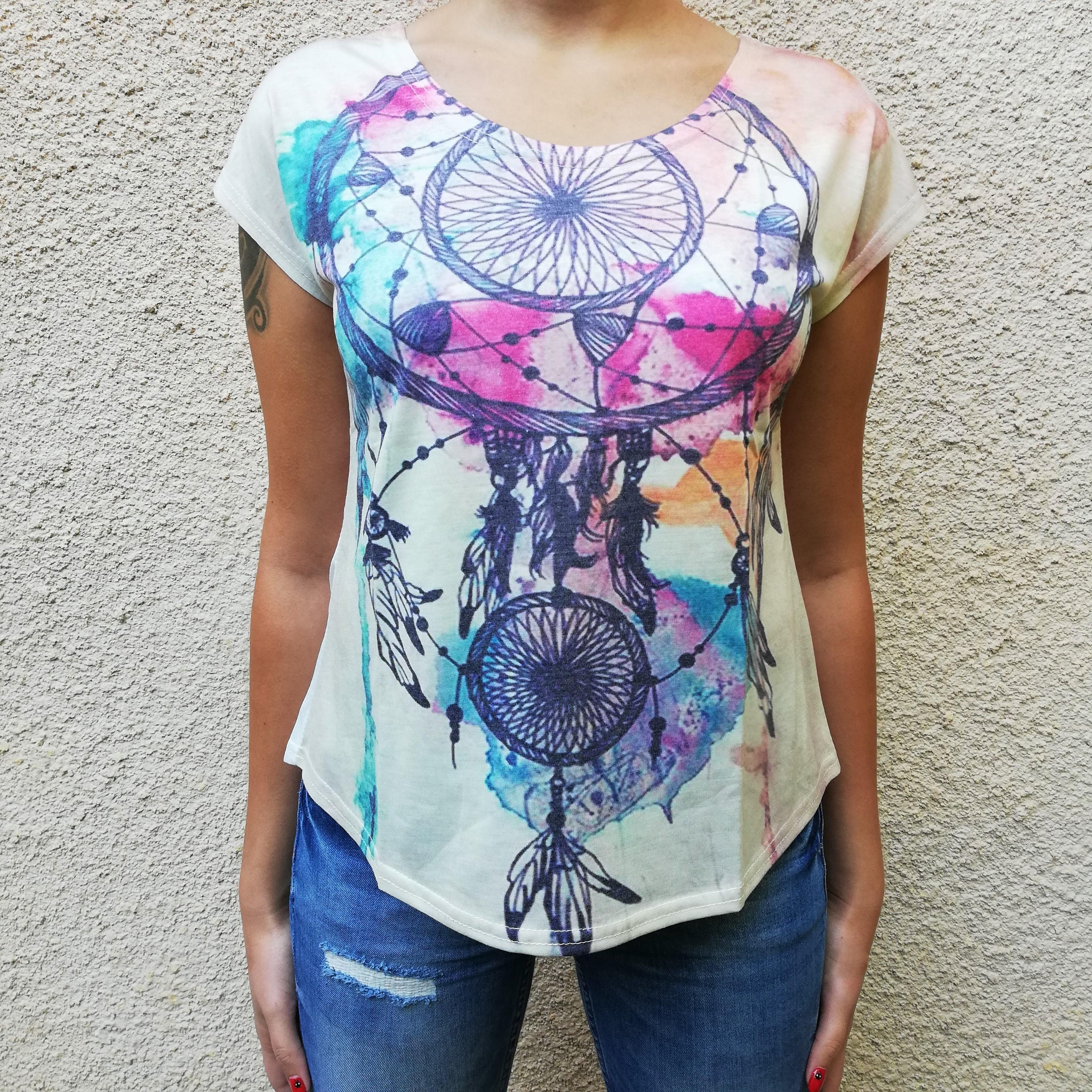 Tricou Dreamcatcher Pastel0
