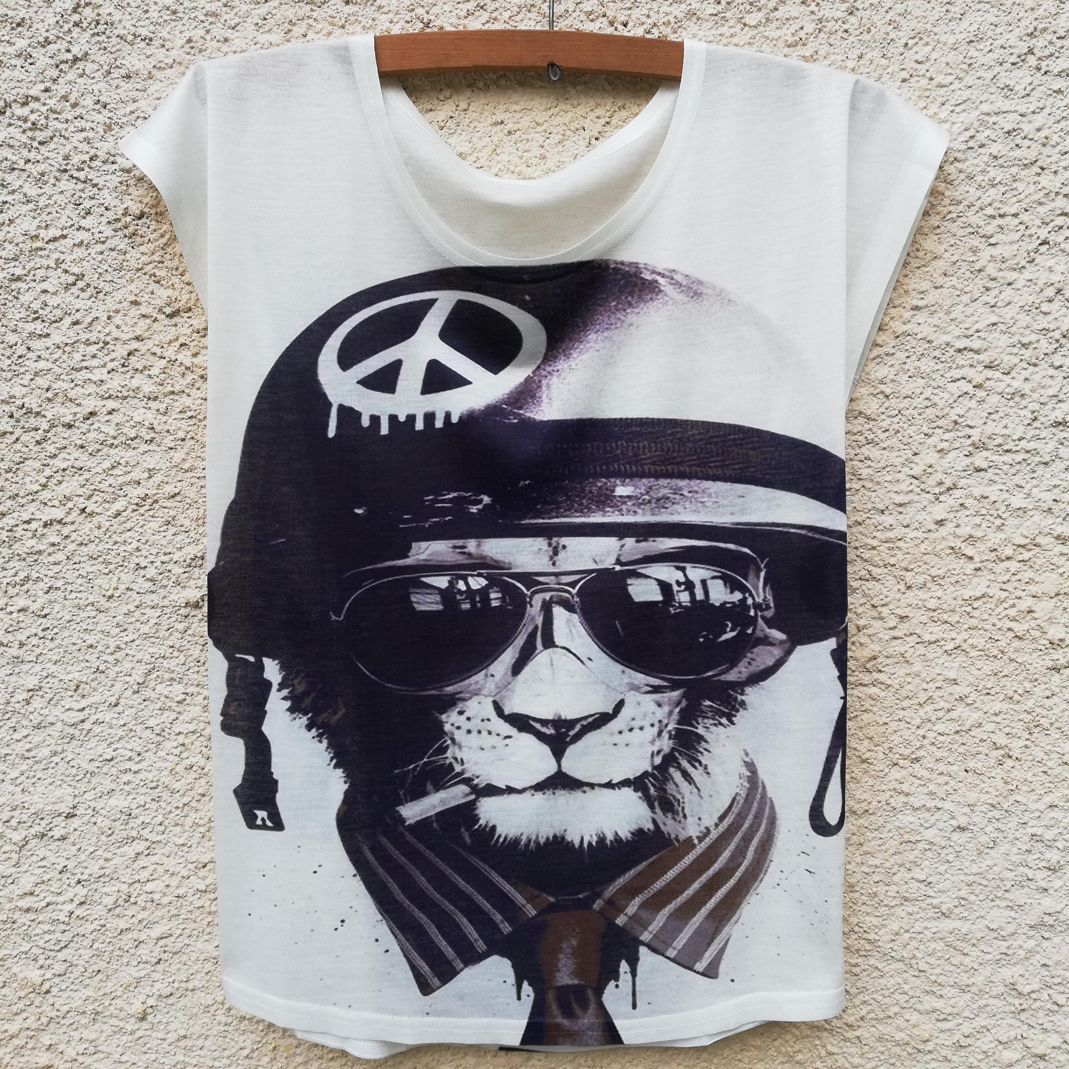 Tricou Feline Peace0