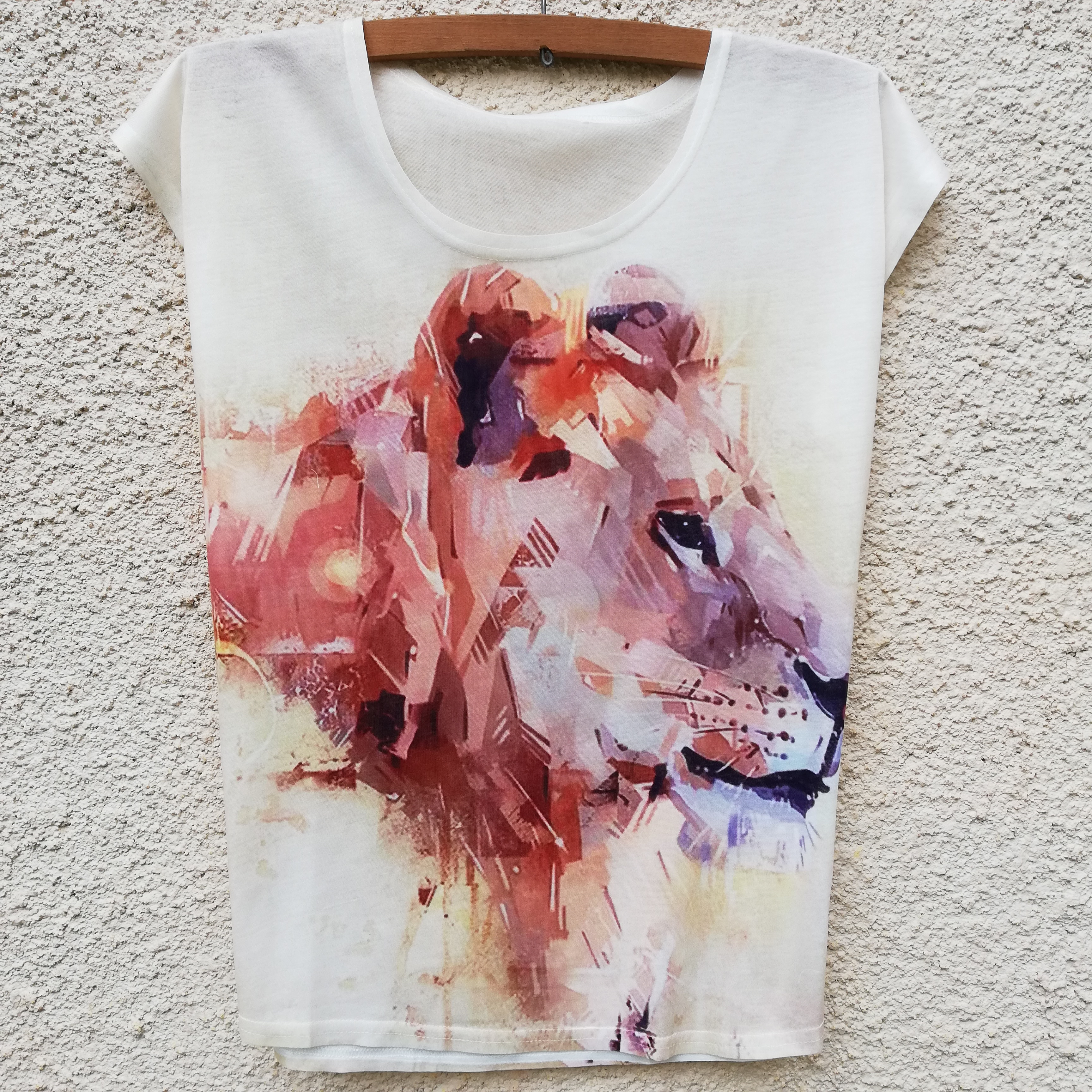 Tricou Retro Lion0