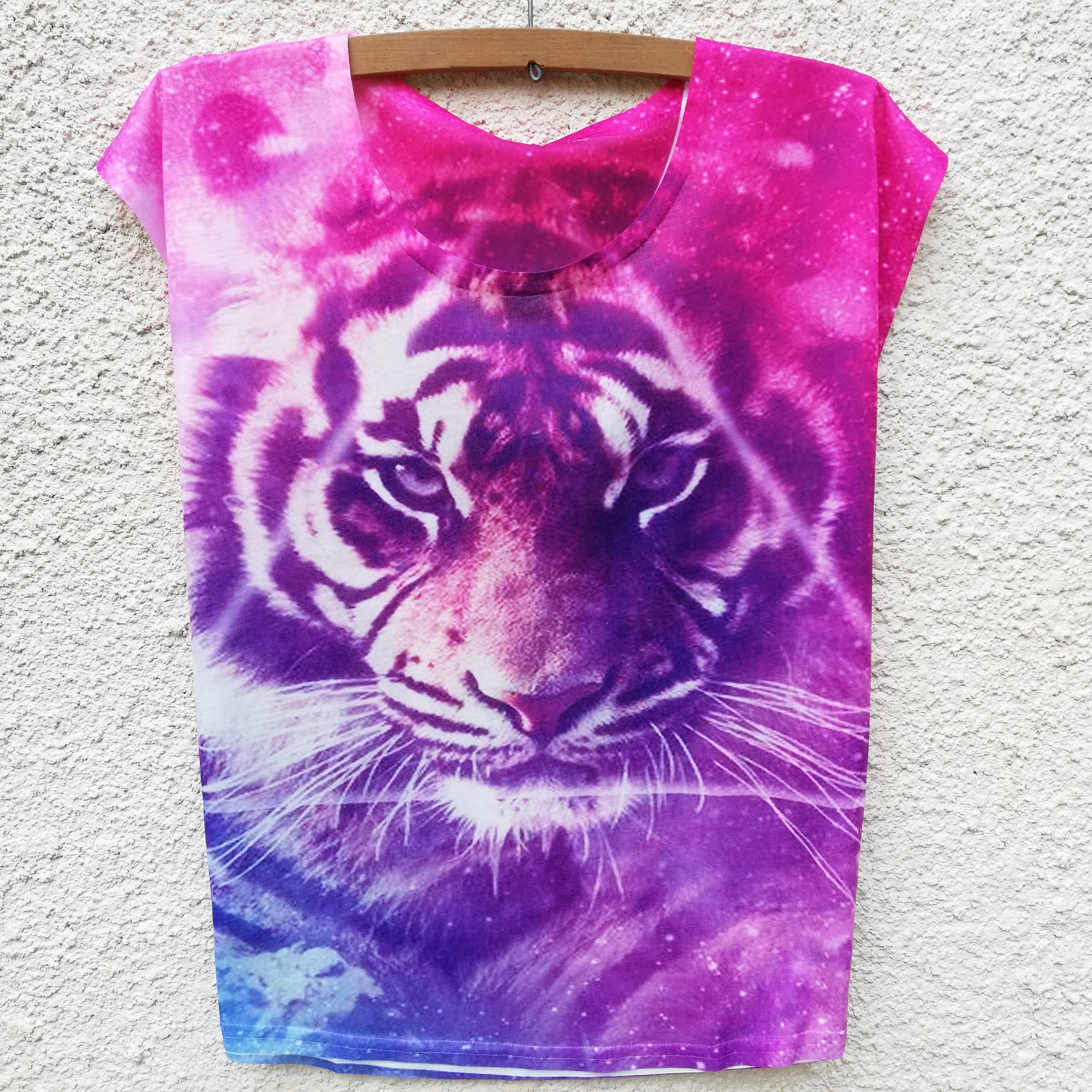 Tricou Purple Tiger0