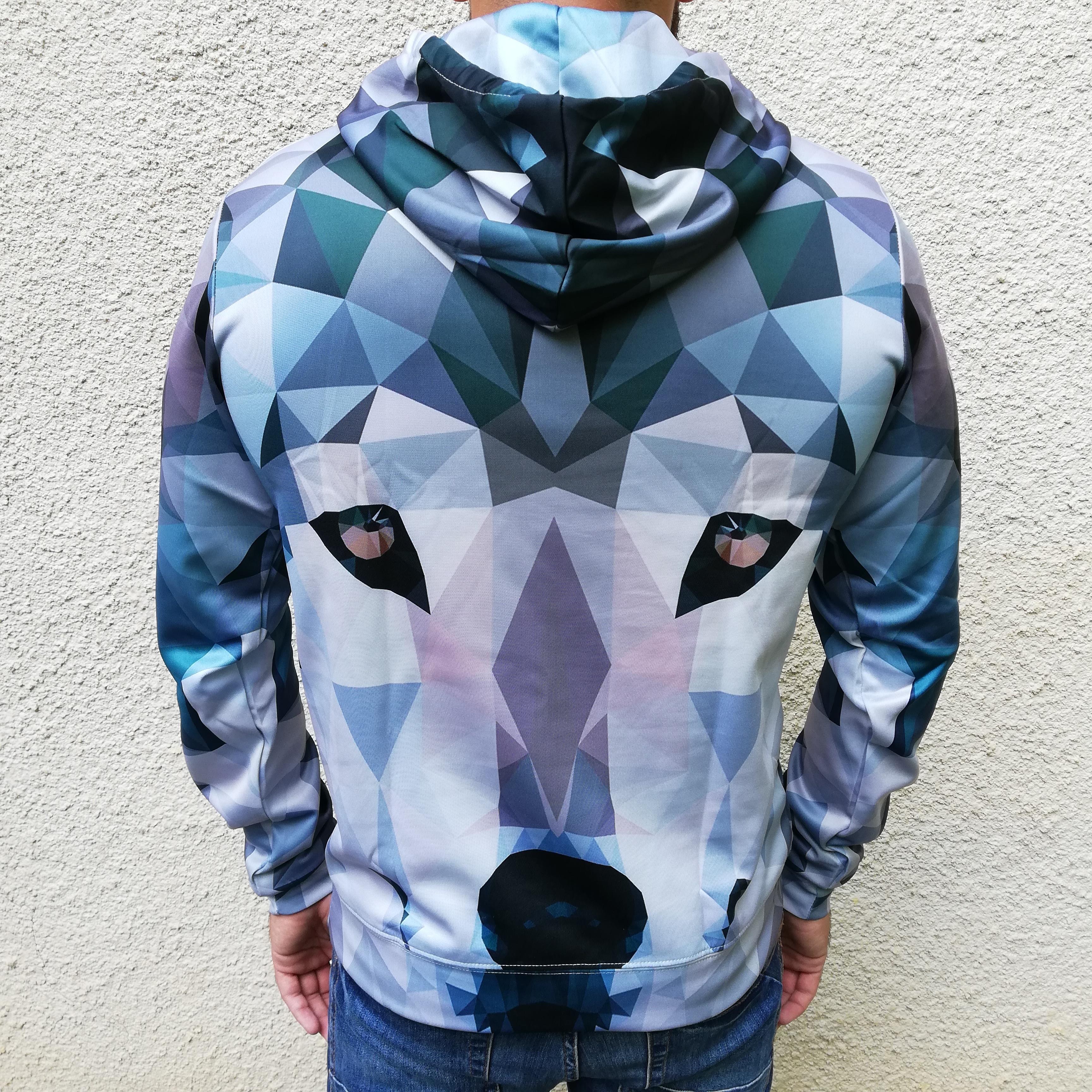 Hanorac 3D Pixel Wolf1