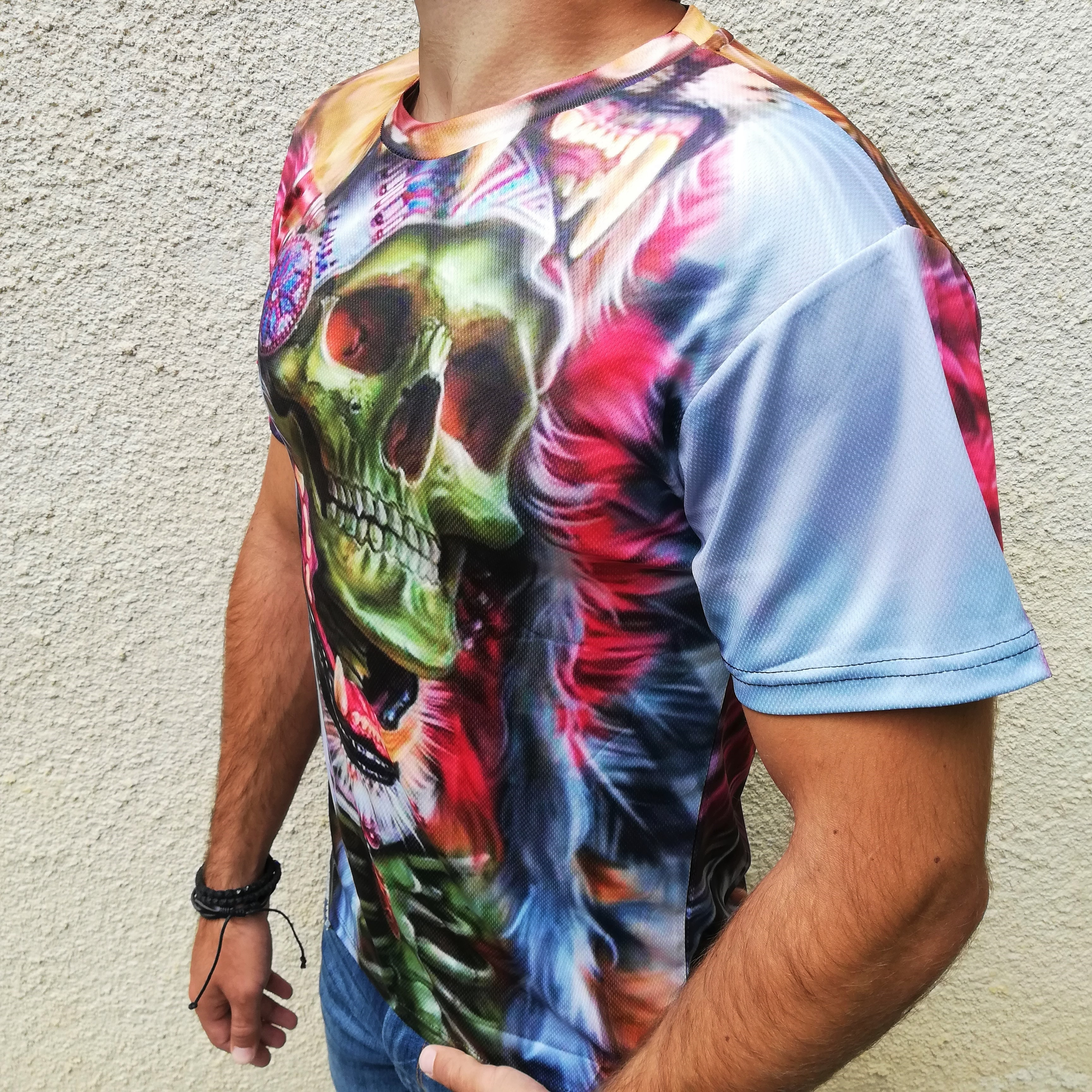 Tricou 3D Skull Chieftain2