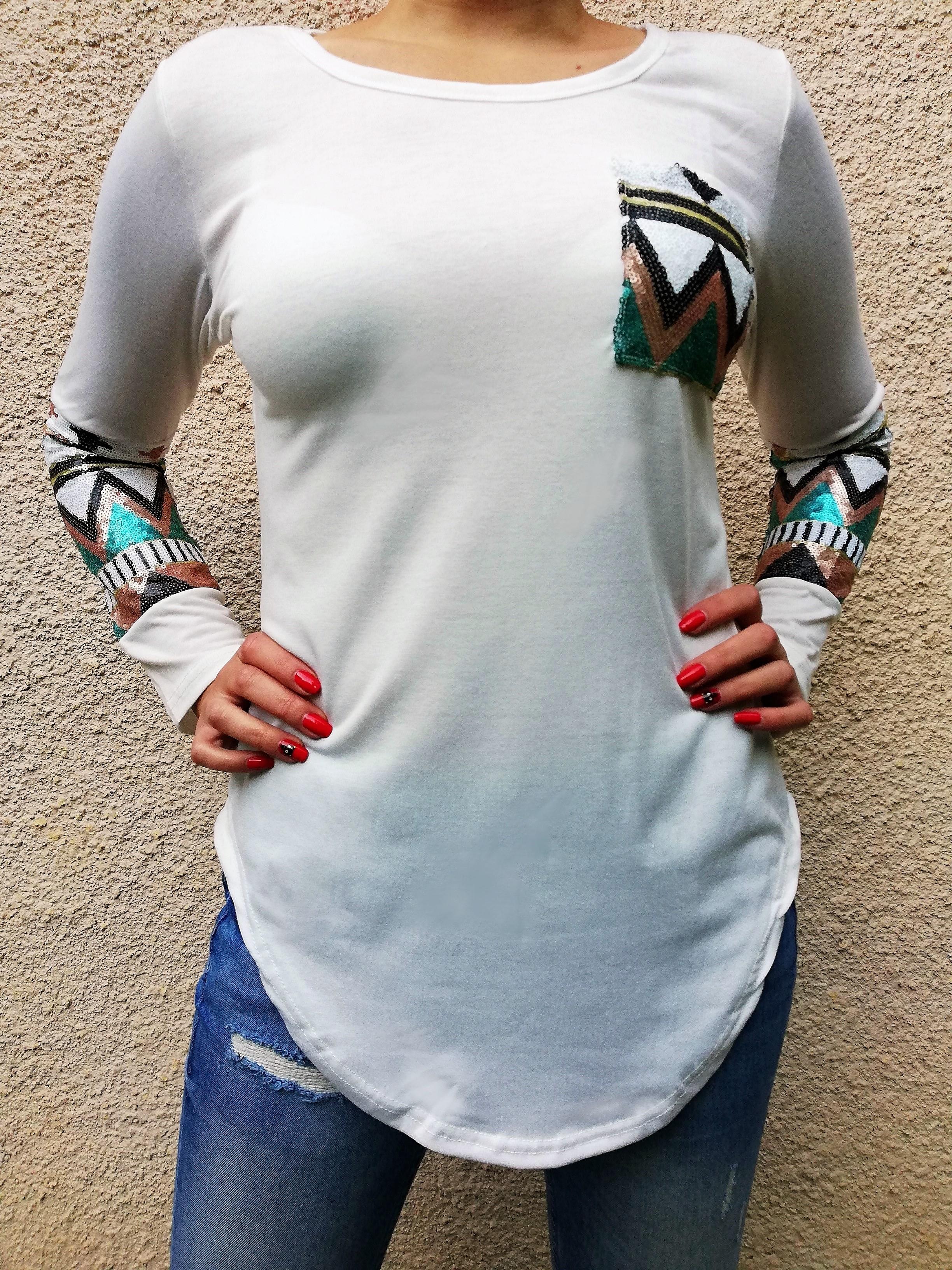 Bluza Aztec Sequin1