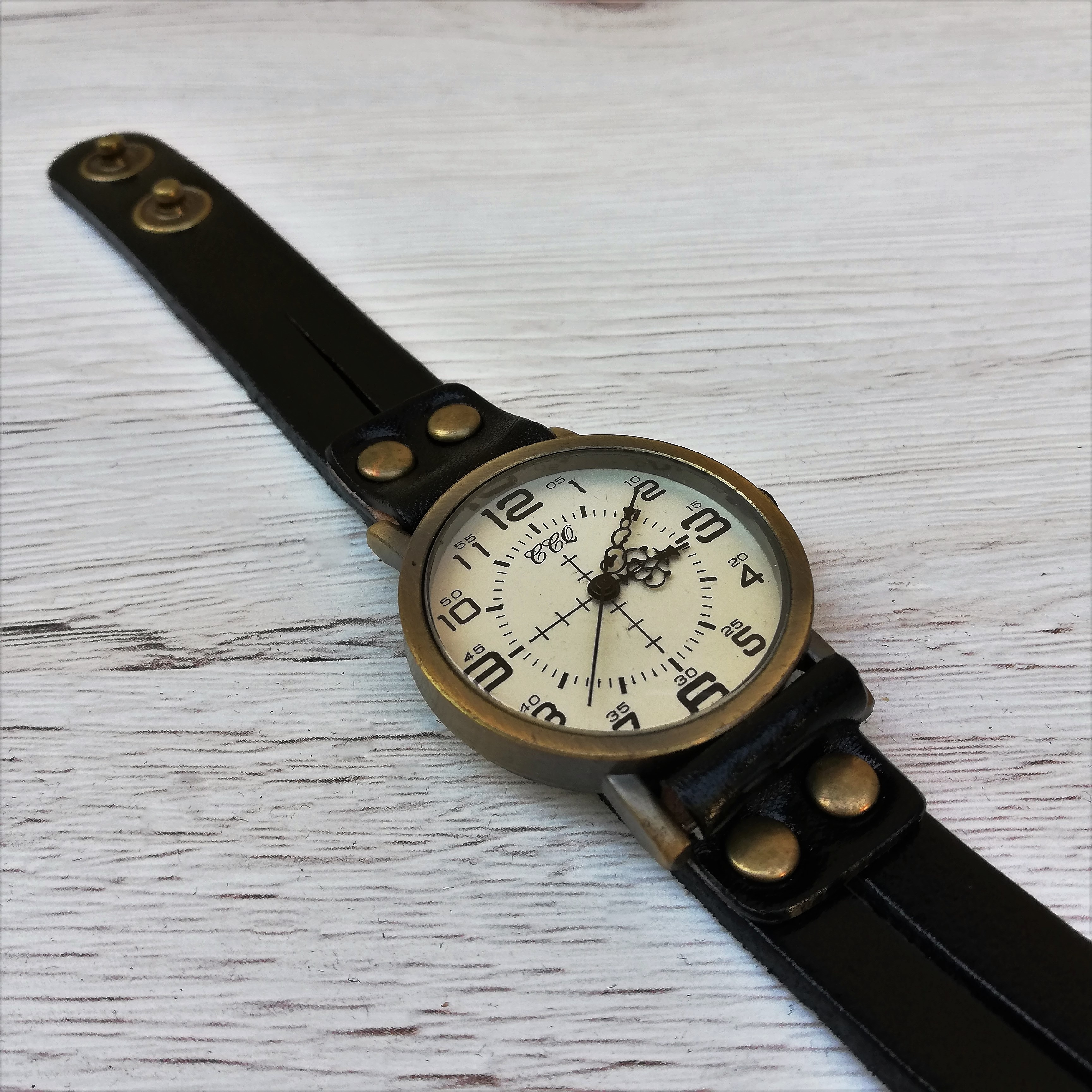 Ceas Vintage Leather Band