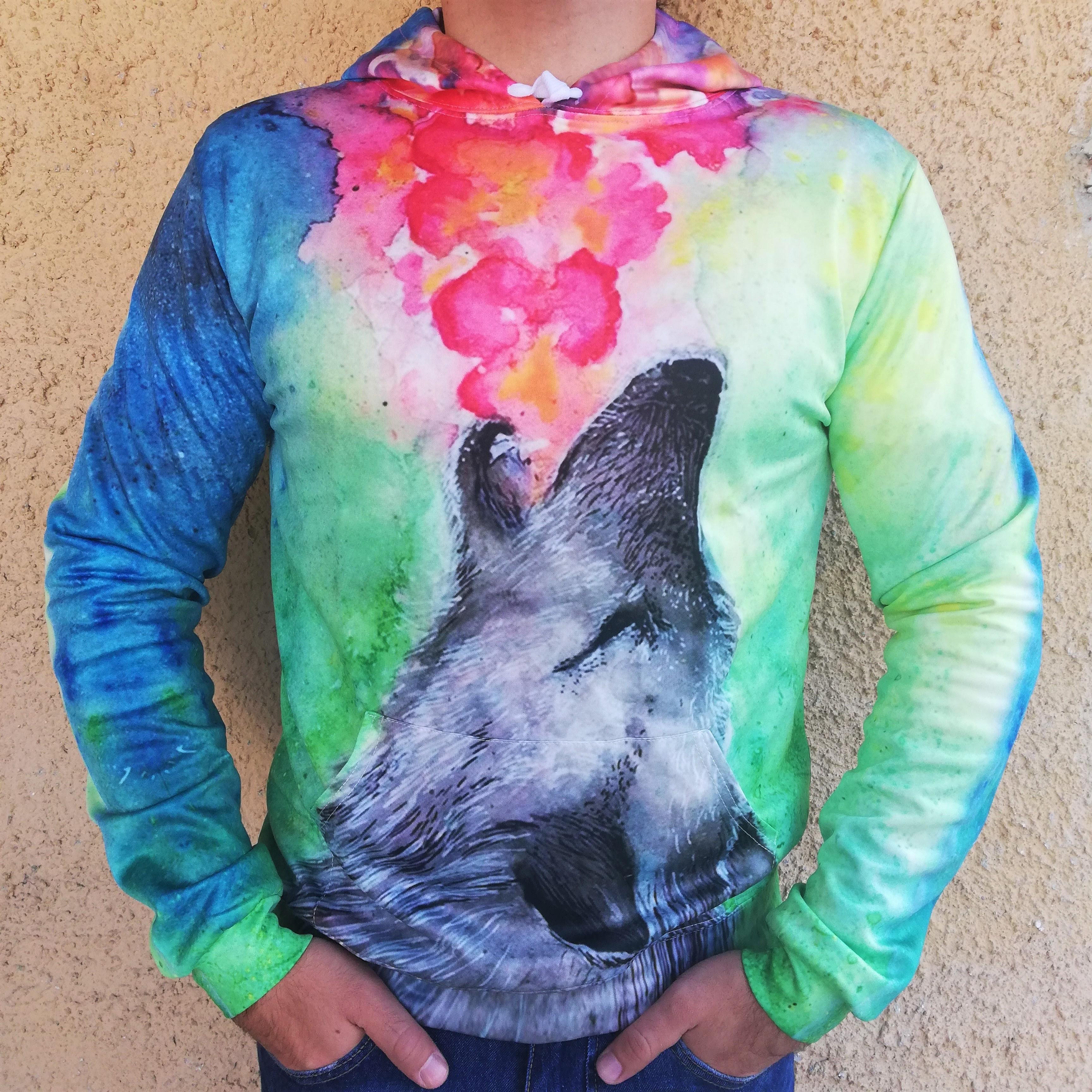 Hanorac 3D Hazy Wolf0