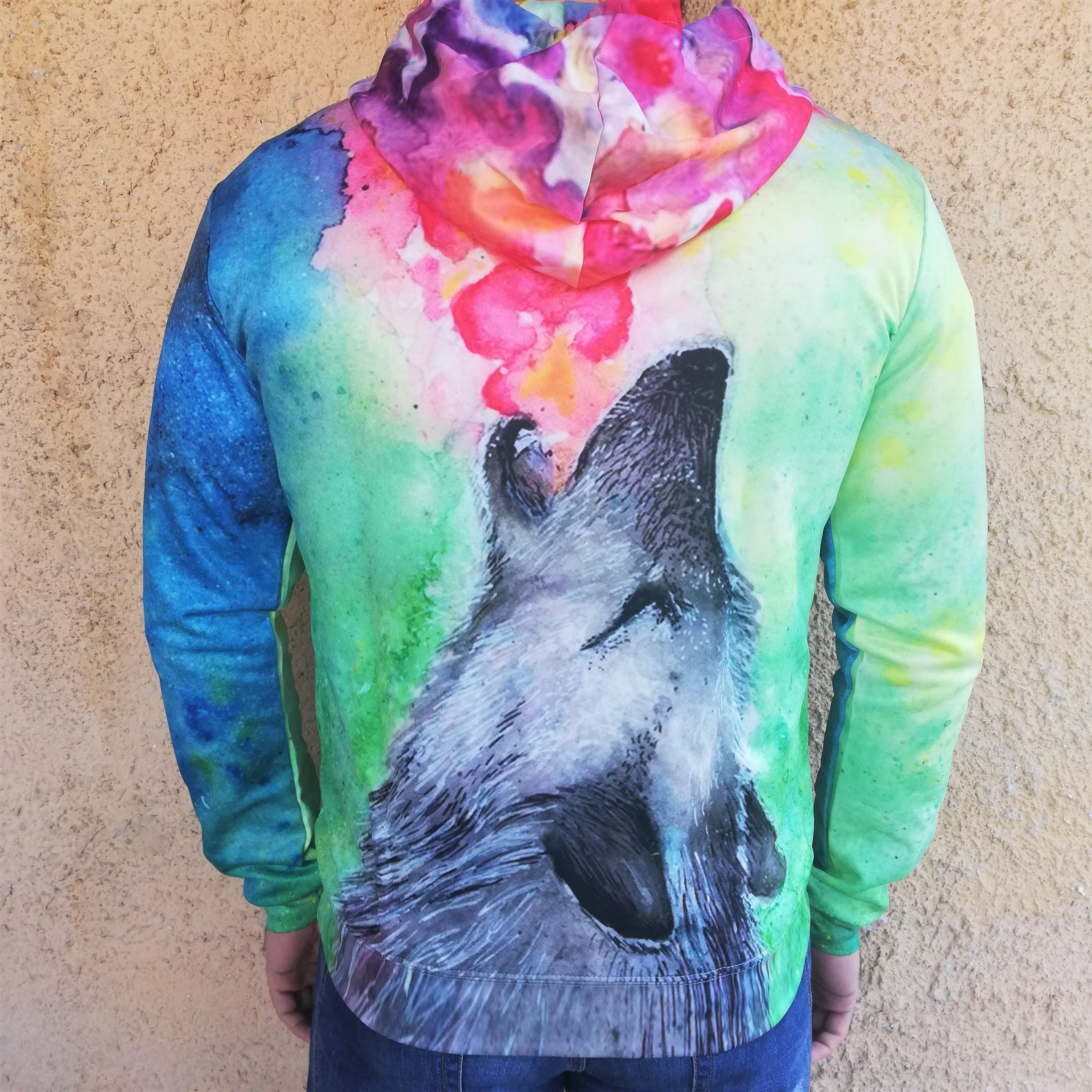 Hanorac 3D Hazy Wolf1