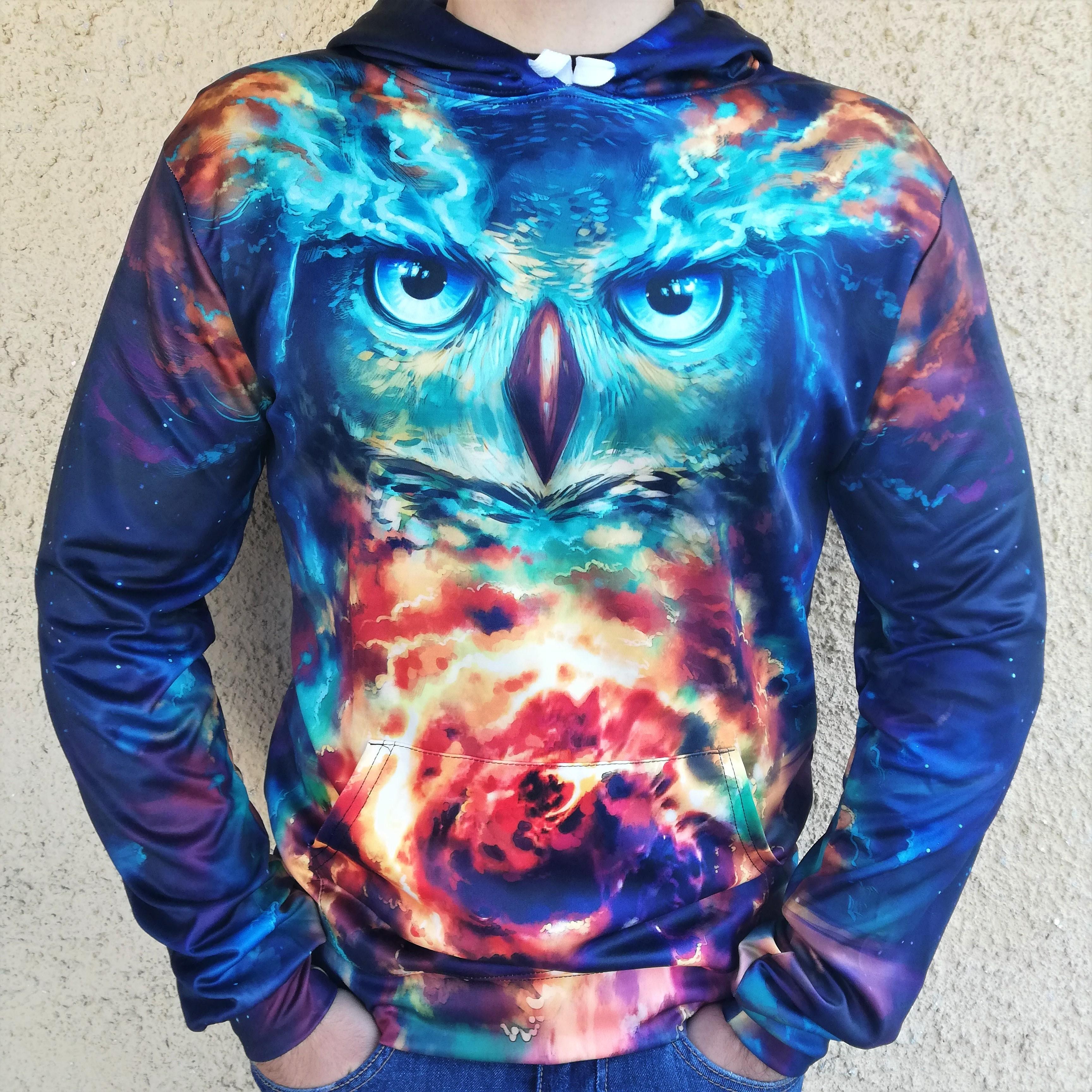 Hanorac 3D Vortex Owl0