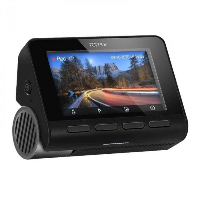 Camera auto DVR Xiaomi 70MAI A800S, 4K,Sony IMX415, Filmare 140°, Super Night Vision, ADAS, GPS, Monitorizare parcare, Slot memorie, 500mAh 0