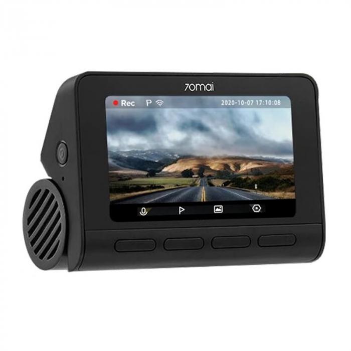 Camera auto DVR Xiaomi 70MAI A800S, 4K,Sony IMX415, Filmare 140°, Super Night Vision, ADAS, GPS, Monitorizare parcare, Slot memorie, 500mAh 2