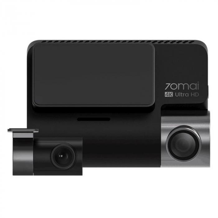 Pachet camera autoDVR Xiaomi 70MAI A800S cu camera spate RC06,4K,Sony IMX415, 140°, Super Night Vision, ADAS, GPS, Monitorizare parcare 1