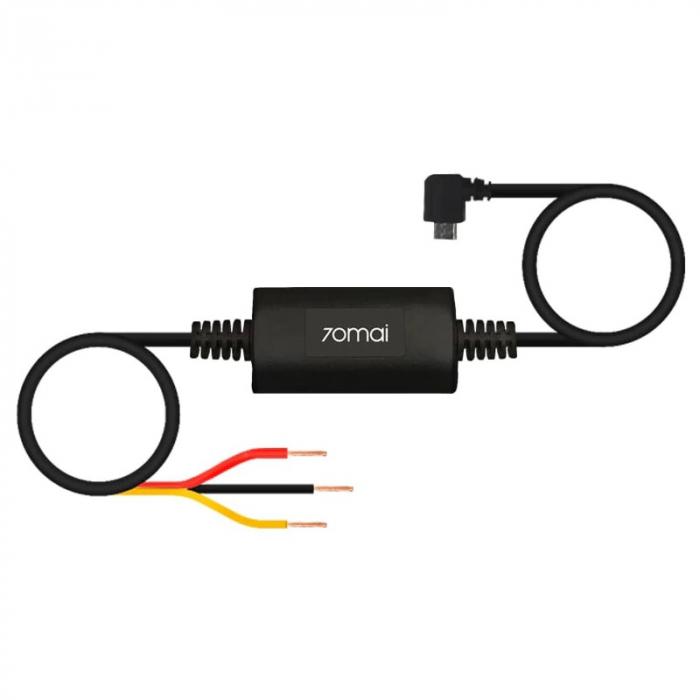 Kit Micro-USB Xiaomi 70MAI MiDrive UP02 pentru alimentarea permanenta a camerei auto DVR la tabloul de sigurante 0