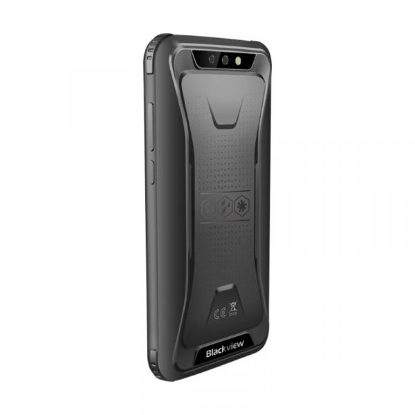 Telefon mobil Blackview BV5500, 3G, IPS 5.5inch, Android 8.1, 2GB RAM, 16GB ROM, MTK6580P QuadCore, 4400mAh, Dual SIM, Waterproof, Negru 3
