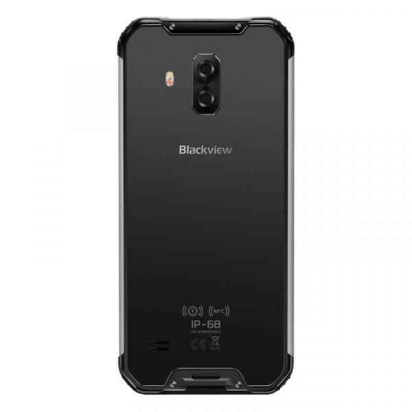 Telefon mobil Blackview BV9600E, 4G, AMOLED 6.21inch, 4GB RAM, 128GB ROM, Android 9.0, Helio P70 OctaCore, Dual SIM, 5580mAh, Gri 2