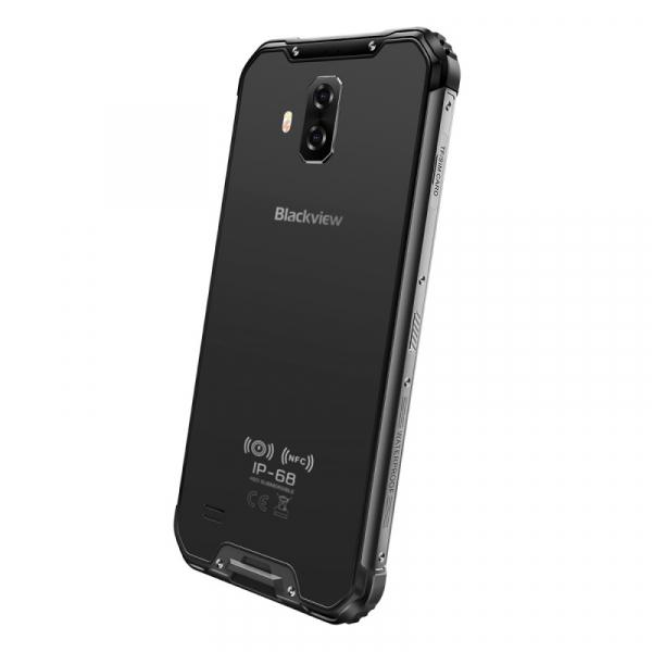Telefon mobil Blackview BV9600E, 4G, AMOLED 6.21inch, 4GB RAM, 128GB ROM, Android 9.0, Helio P70 OctaCore, Dual SIM, 5580mAh, Gri 4