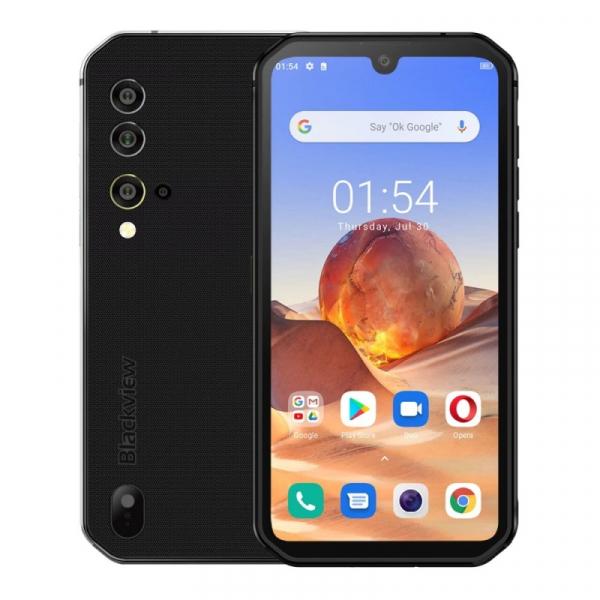 Telefon mobil Blackview BV9900E, 4G, IPS 5.84 , 6GB RAM, 128GB ROM, Android 10, Helio P90 OctaCore, NFC, 4380mAh, Dual SIM, Gri imagine dualstore.ro 2021