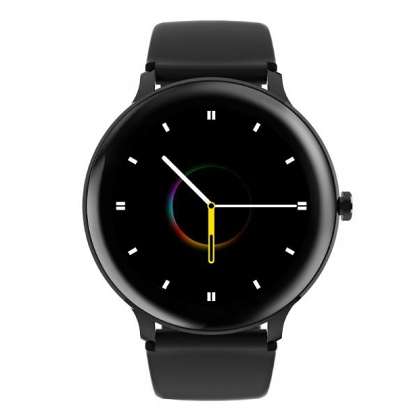 Smartwatch Blackview X2, LCD 1.3inch curbat 2D, Bluetooth, Control muzica, Waterproof 5ATM, 260mAh, Negru imagine
