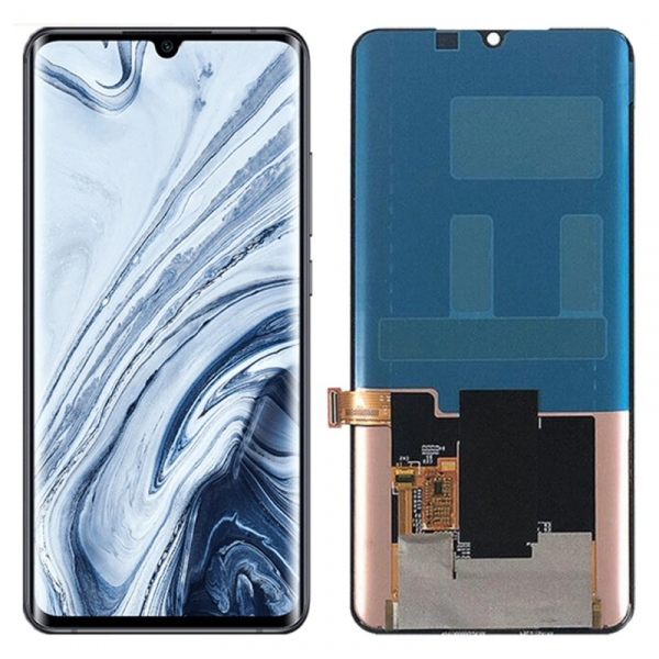 Display original OGS Xiaomi Mi Note 10 Pro Negru 0