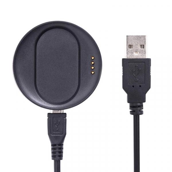 Dock de incarcare original cu cablu USB pentru smartwatch Kospet Optimus / Optimus Pro Negru 0