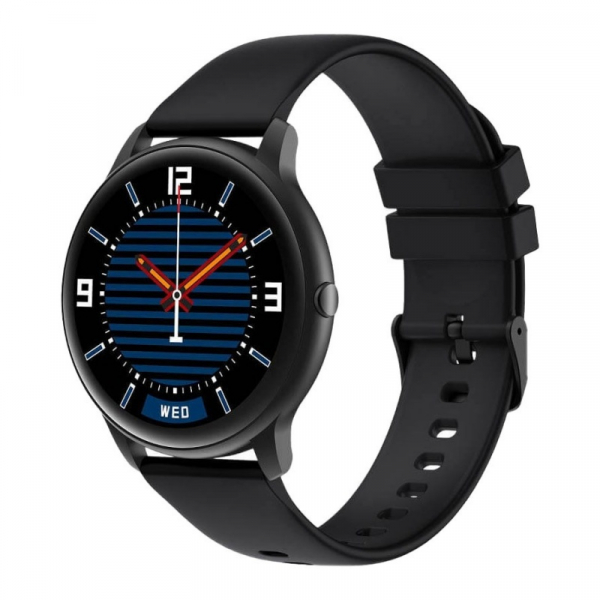 "Smartwatch Xiaomi IMILAB KW66, TFT HD 1.28"" Touch Screen curbat 3D, Ritm cardiac, Bluetooth v5.0, IP68, 340mAh, Negru 0"