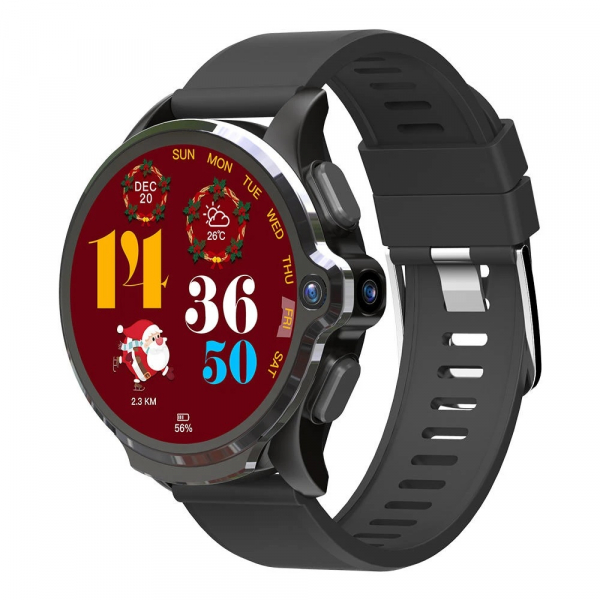 Smartwatch Kospet Prime SE, 4G, IPS Super Retina 1.6inch, 1GB RAM, 16GB ROM, MTK6739, Android 7.1.1, Waterproof IP67, Face ID, 1260mAh imagine dualstore.ro 2021