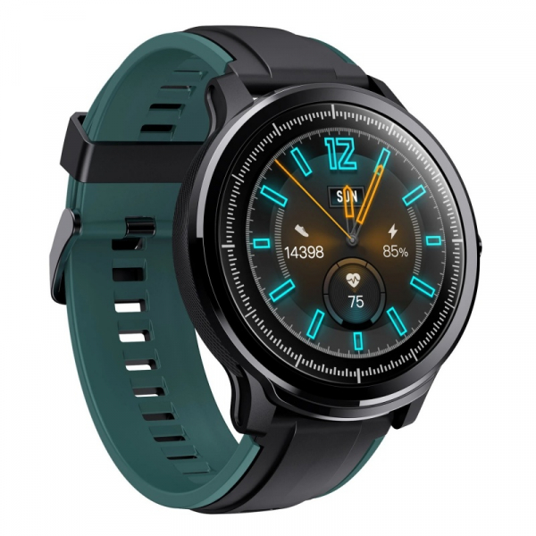Smartwatch Kospet Probe Negru cu bratara de schimb Negru cu Verde 2