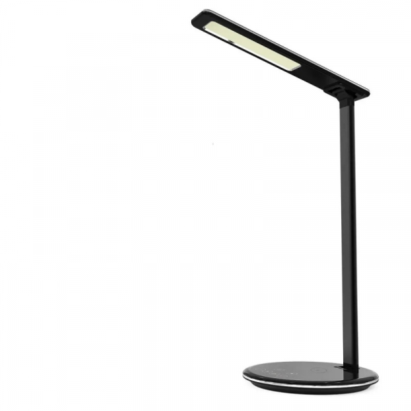 Lampa LED de birou cu incarcator wireless Qi 10W 3