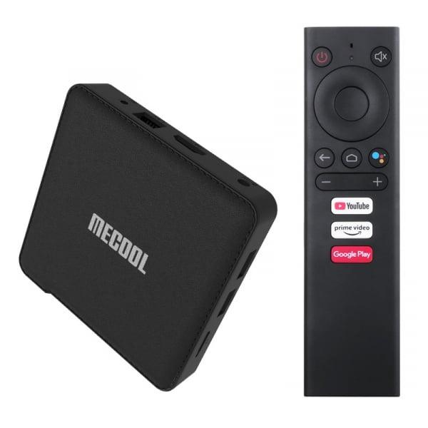 TV Box MECOOL KM1 Classic, 4K, Android 9.0, 2GB RAM, 16GB ROM, S905X3 QuadCore, USB 3.0, HDR10+, Wi-Fi 2T2R, Bluetooth, Chromecast imagine dualstore.ro 2021