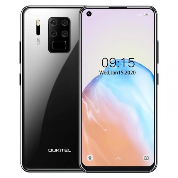 Telefon mobil Oukitel C18 Pro, 4G, IPS 6.55inch, 4GB RAM, 64GB ROM, Android 9.0, Helio P25 OctaCore, 4000mAh, Dual SIM, Negru
