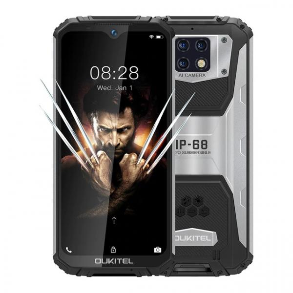 Telefon mobil Oukitel WP6 6 128 Negru imagine dualstore.ro 2021