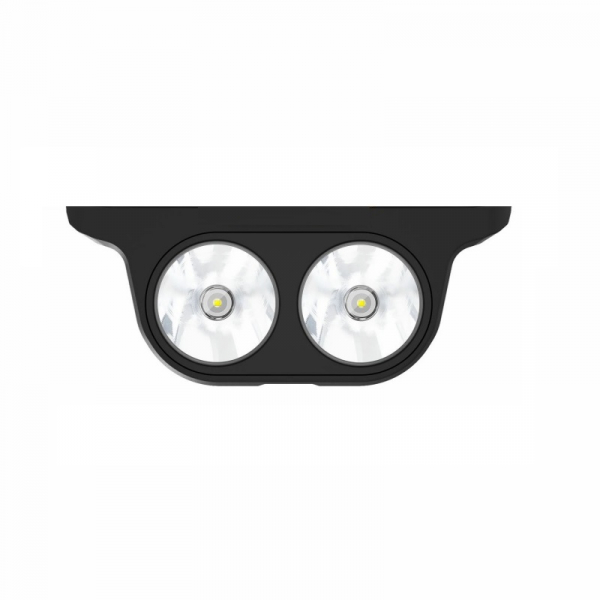 Modul Lanterna pentru Oukitel WP7, 2 LED-uri, 1100 lumeni, 3 nivele de iluminare, Alerta SOS, Iluminare intermitenta imagine