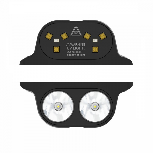 Pachet module pentru Oukitel WP7, Modul Sterilizator UVC cu eficienta 99.99% si Modul Lanterna cu 3 nivele de iluminare si mod SOS imagine