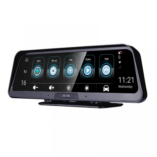 Navigator pentru bord Star Senatel Q98 DVR, 4G, IPS 10 , 2GB RAM, 32GB ROM, Android 8.1, GPS, ADAS, Wifi, Night Vision, Monitorizare 24 24 imagine 2021