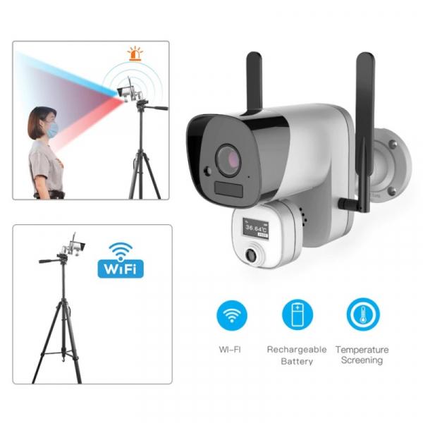 Camera de supraveghere wireless cu senzor termic STAR Y3-TB01, 2MP, 1080P FHD, Wi-Fi, Standalone, Baterie reincarcabila, Slot memorie 2