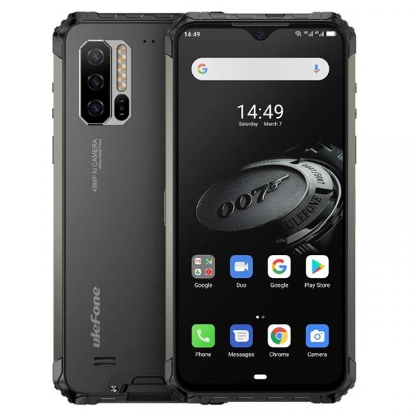 Telefon mobil Ulefone Armor 7E, IPS 6.3inch, 4GB RAM, 128GB ROM, Android 9.0, Helio P90 OctaCore, Incarcare wireless,5500mAh, Dual Sim 0