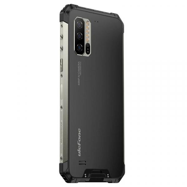 Telefon mobil Ulefone Armor 7E, IPS 6.3inch, 4GB RAM, 128GB ROM, Android 9.0, Helio P90 OctaCore, Incarcare wireless,5500mAh, Dual Sim 4