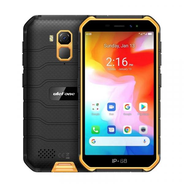 Telefon mobil Ulefone Armor X7, 4G, IPS 5inch, 2GB RAM, 16GB ROM, Android 10, Helio A20 QuadCore, NFC, 4000mAh, Dual SIM, Orange 0