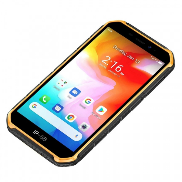 Telefon mobil Ulefone Armor X7, 4G, IPS 5inch, 2GB RAM, 16GB ROM, Android 10, Helio A20 QuadCore, NFC, 4000mAh, Dual SIM, Orange 3